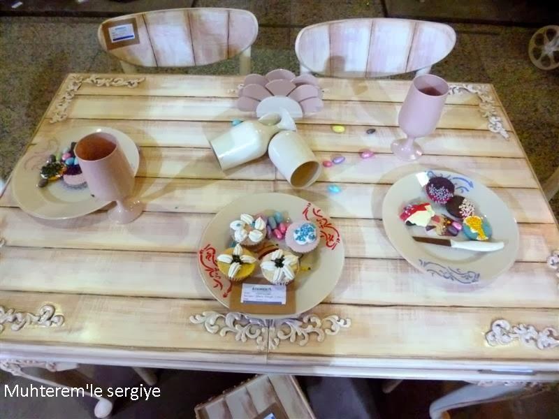 Muffin Desenli Mutfak Aksesuarları