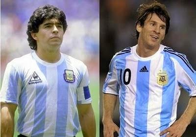Una encuesta sostiene que Maradona es más reconocido que Messi entre los argentinos