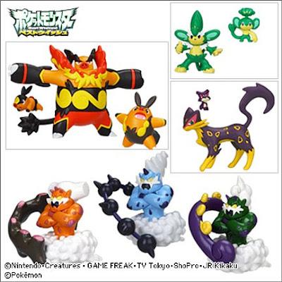 Pokemon Figure Zukan BW 3 TTA