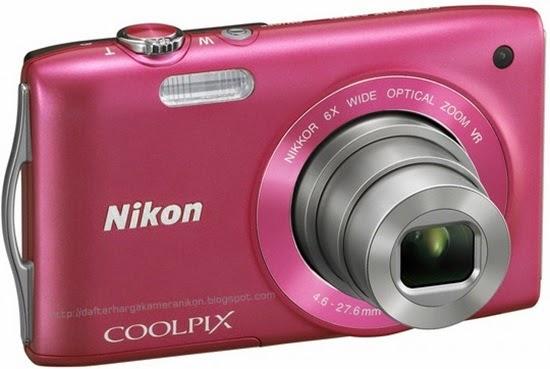 Harga dan Spesifikasi Kamera Nikon Coolpix S3300 Terbaru
