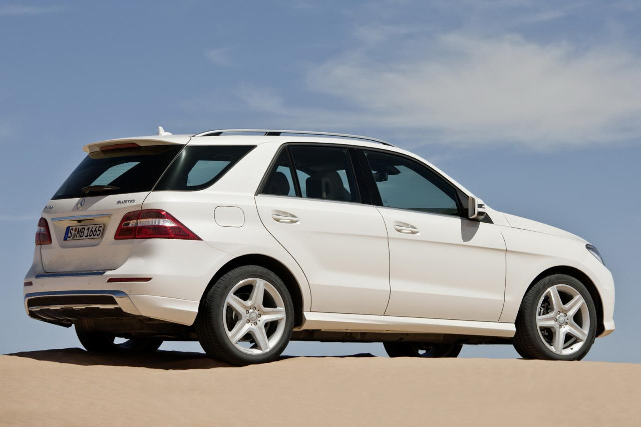 In4ride official all new 2012 mercedes benz ml class for All new mercedes benz