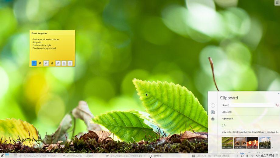 KDE Plasma 5.1