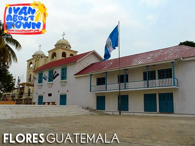 Catedral Nuestra Señora de Los Remedios y San Pablo Itzá, Flores, Guatemala