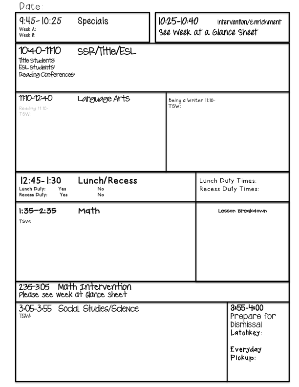 Work Plan Examples Plan Templates That Work