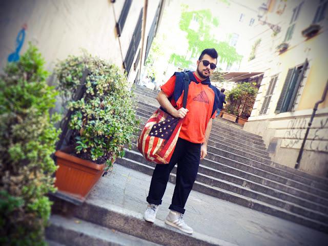Guy Overboard, Fashion Blogger, Outfit, Felpa smanicata uomo