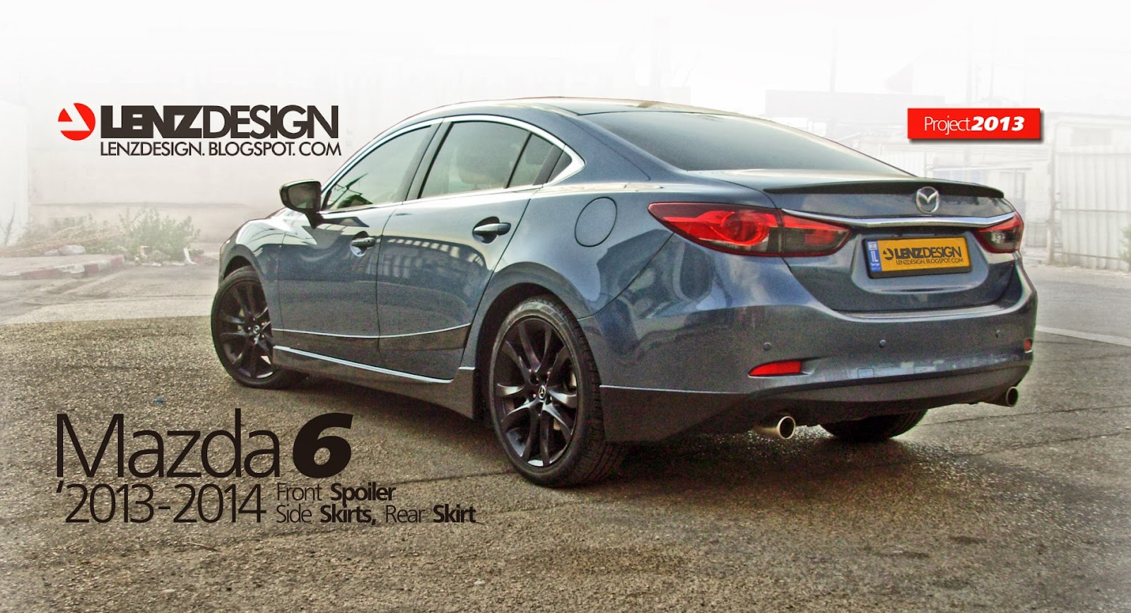 mazda 6 2013 2014 lenzdesign performance body kit 5 pieces. Black Bedroom Furniture Sets. Home Design Ideas