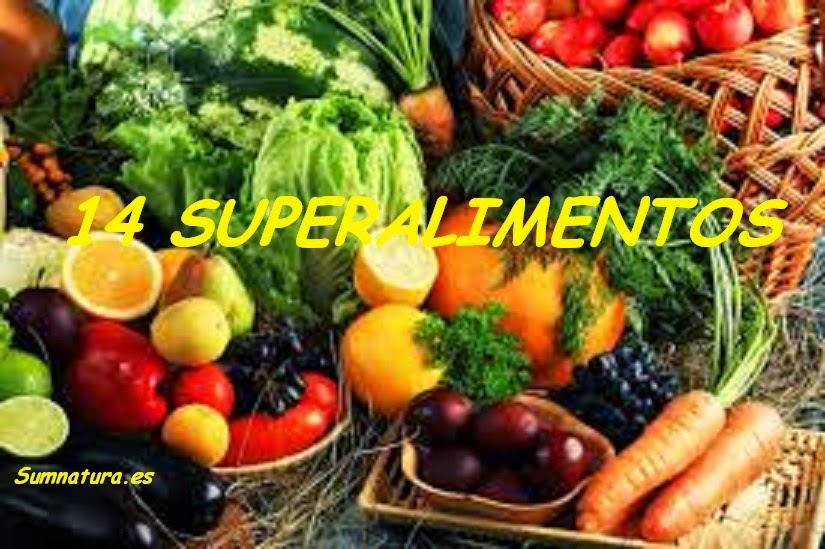 Superalimentos. Los alimentos más saludables