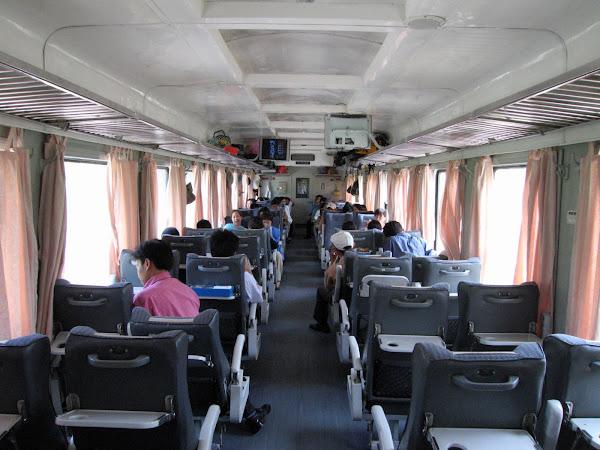 Asientos blandos del tren a Sapa