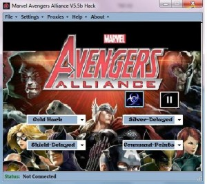 Free Marvel Avengers Alliance Cheat + Gold Coins,Silver Hack Update