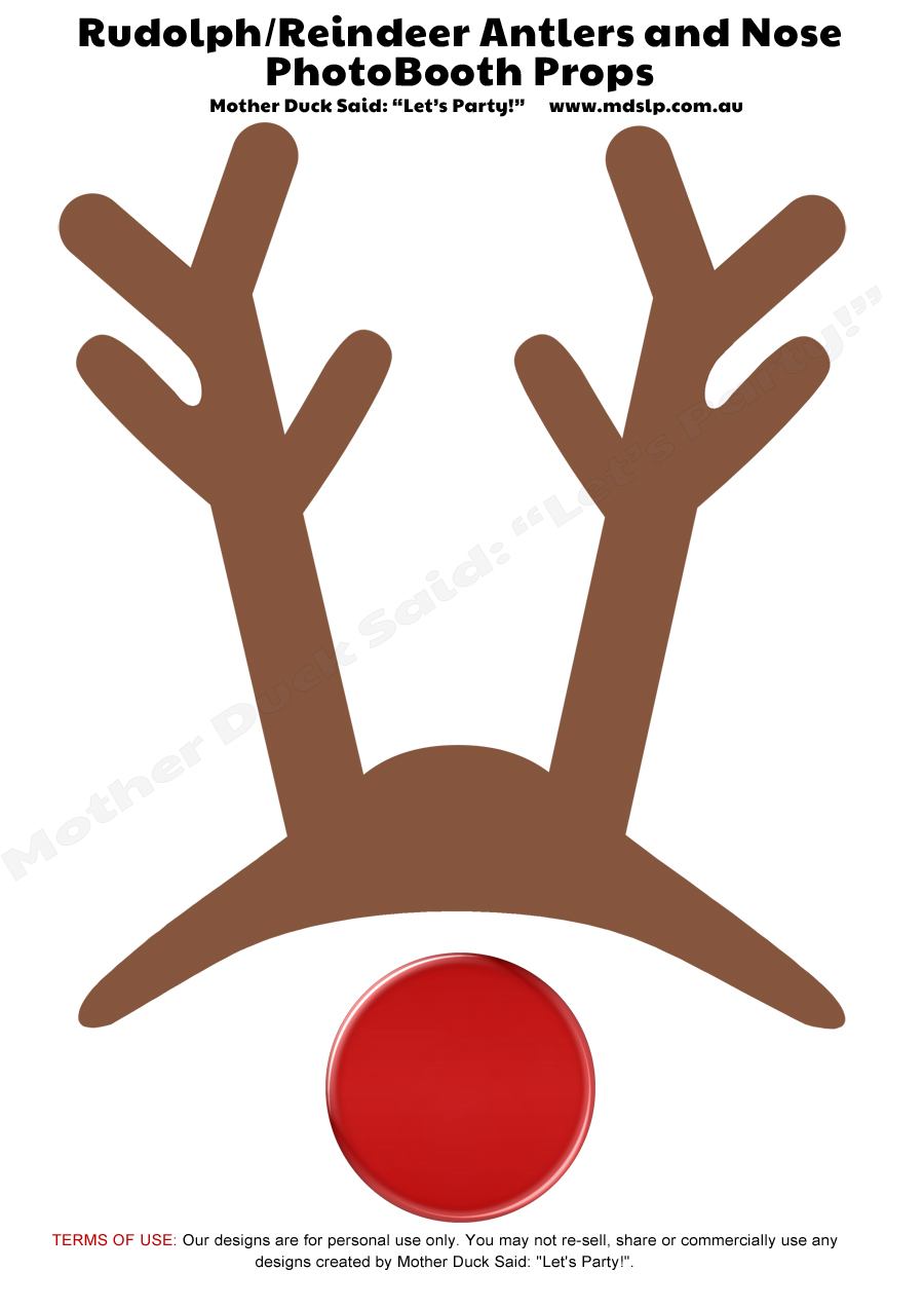 Search Results For Reindeer Template Template Calendar