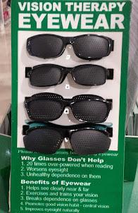 Vision Threapy Eyewear Pinhole Glasses