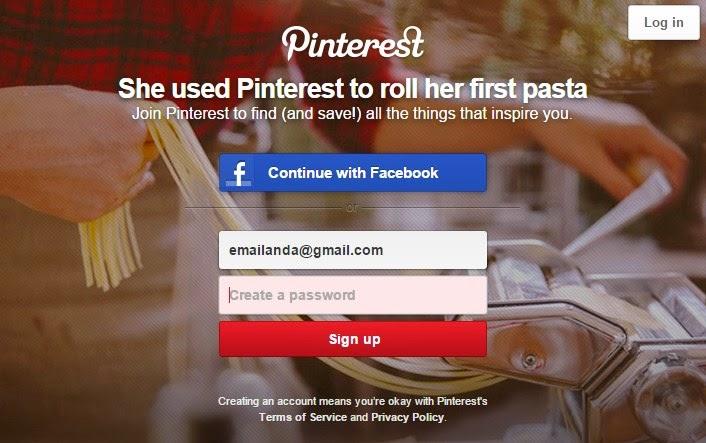 Tutorial Mendaftar Akun Pinterest