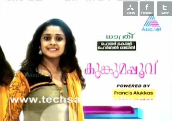 Watch Asia Kumkumapoovu Th November Online At