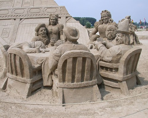 Sand Art su Arte Nascosta