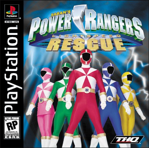 Games Forever Power Rangers Ligtspeed Rescue Ps1