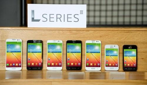 Optimus L smartphones by LG