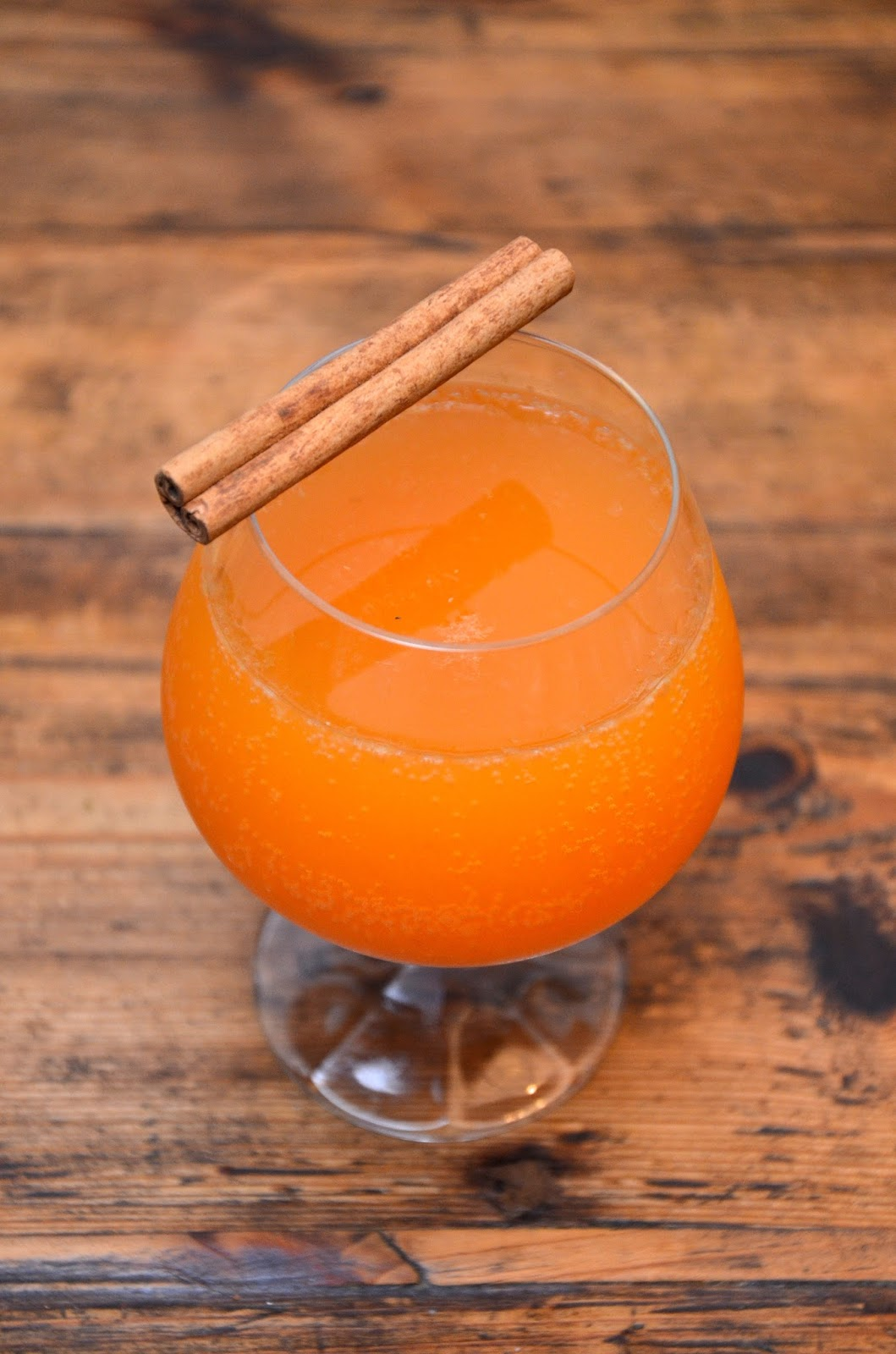 pumpkin french 75 | cocktail recipe