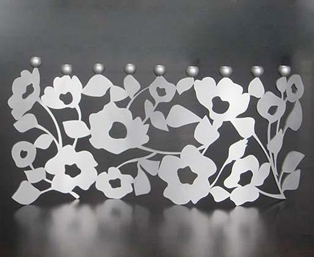 The Bloom Menorah by Melanie Dankowicz: