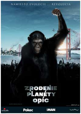 The Rise of the Planet Apes Movie Poster
