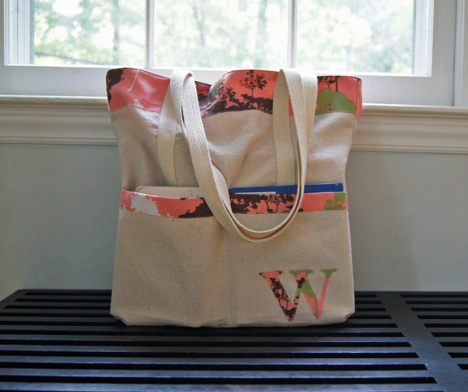 Sutton Grace: simple tote bag tutorial