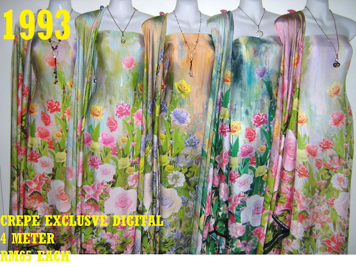 CP 1993: CREPE EXCLUSIVE DIGITAL PRINTED, 4 METER
