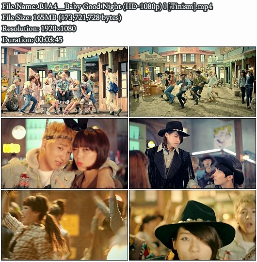 Download MV B1A4 - Baby Good Night (잘자요 굿나잇) (Full HD 1080p)