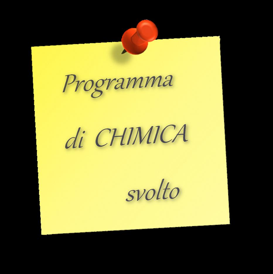 Programma di chimica 2017 2018