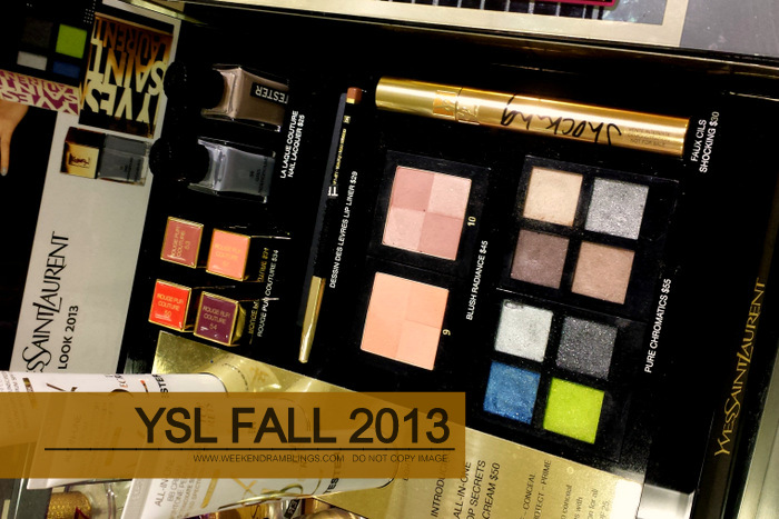 YSL Fall 2013 Citry Drive Makeup Collection - Photos - Swatches