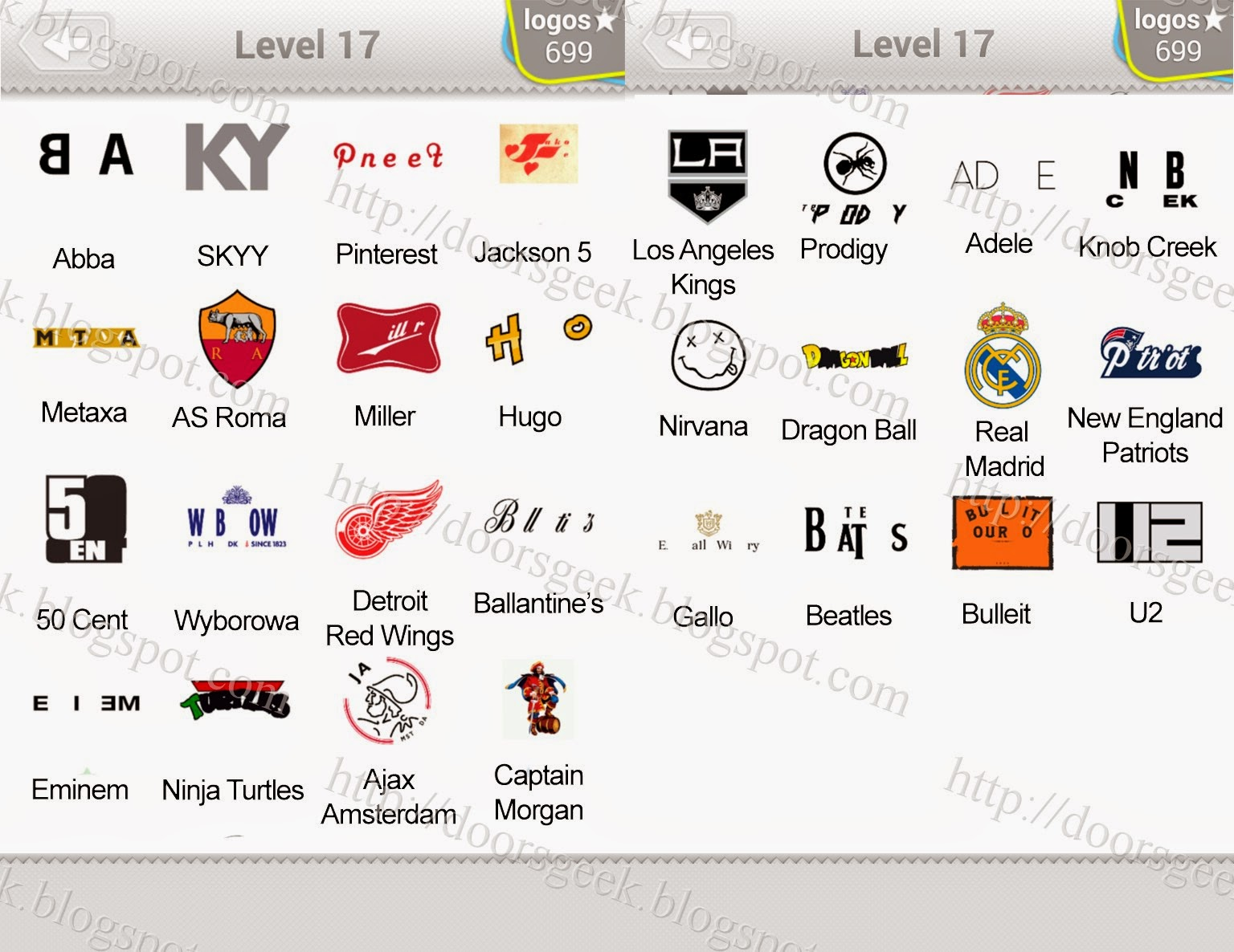 logo quiz level 17 answers by bubble quiz games answers