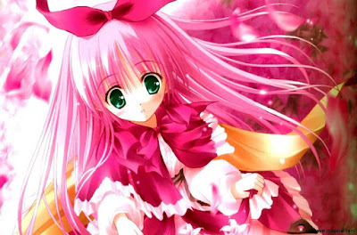 Gambar Wallpaper Anime Jepang Berambut Pink Cantik 906