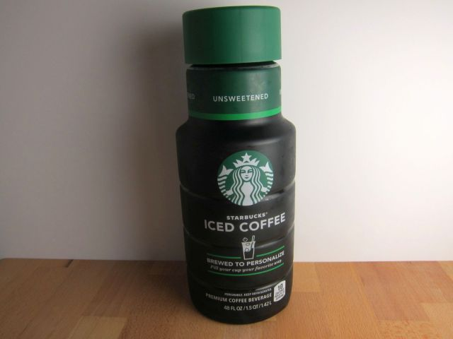 Starbucks Iced Coffee review: starbucks - bottled unsweetened iced coffee | brand eating