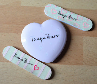 Tanya Burr cosmetics nail files mirror