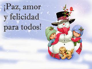 tarjetas de navidad con muñeco de nieve