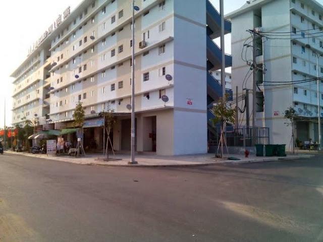 Nhà ở xã hội Becamex tại KDC Việt Sing, Thuận An, Bình Dương.