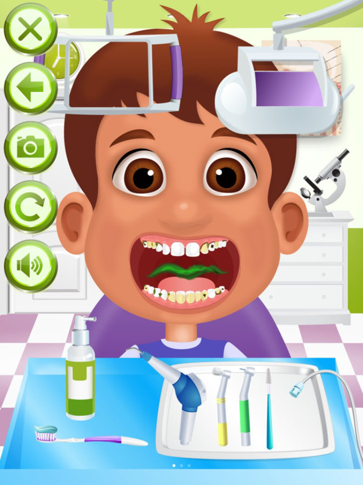 Dentist Office Free App Game By Ninjafish Studios
