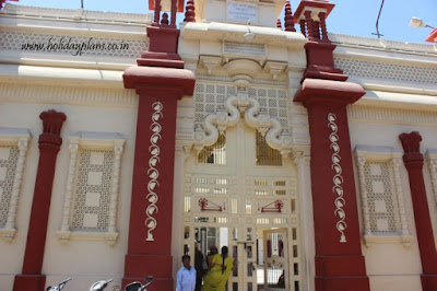 Entrance to Kirti Mandir