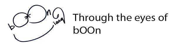 Through the eyes of bOOn