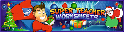 http://www.superteacherworksheets.com/christmas.html