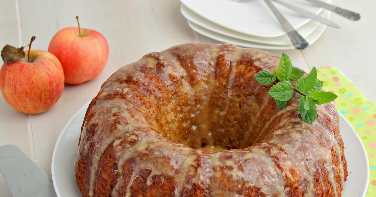 ... : Apple Cake with Caramel Glaze plus bonus Muffins (Apple Week Day 3