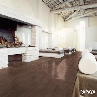 fragranze papaya wood-look tile