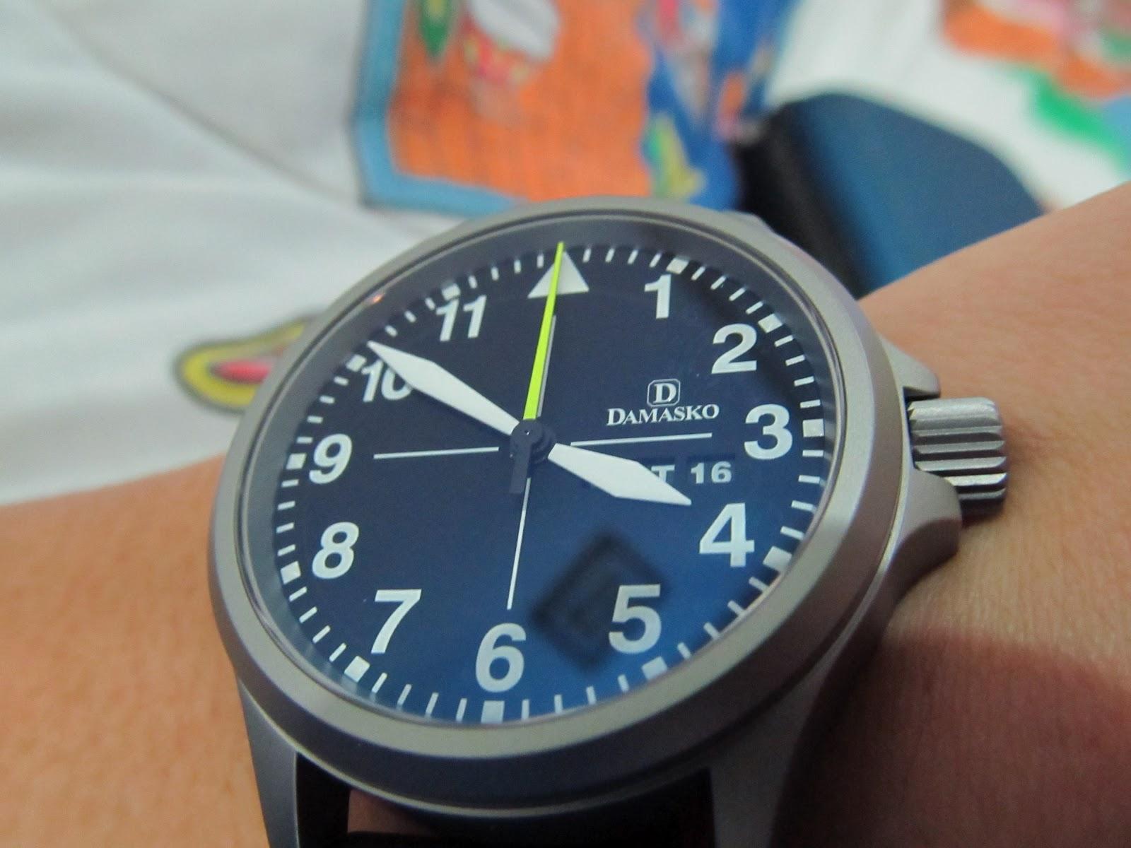 Waktu watches damasko da36 for Damasko watches