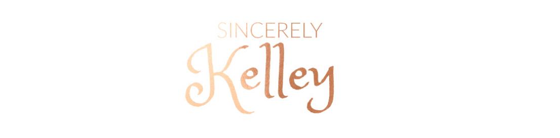 Sincerely, Kelley