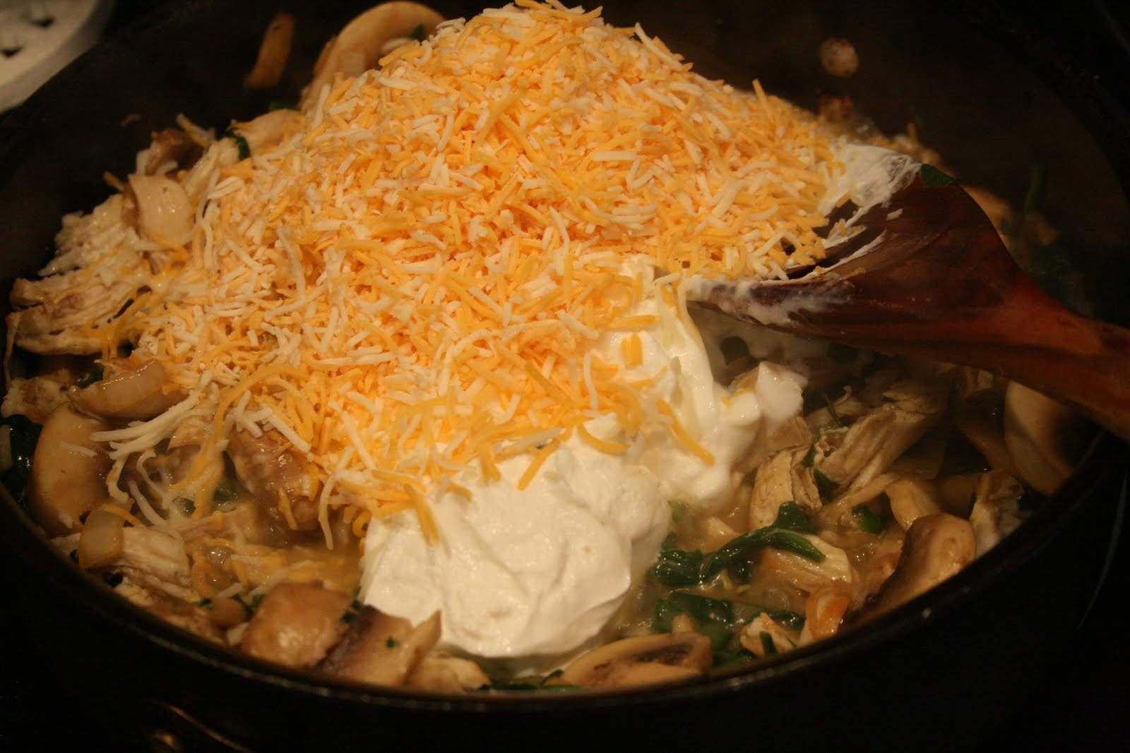 ... cheesy spinach pasta casserole recipe yummly cheryl s spinach cheesy