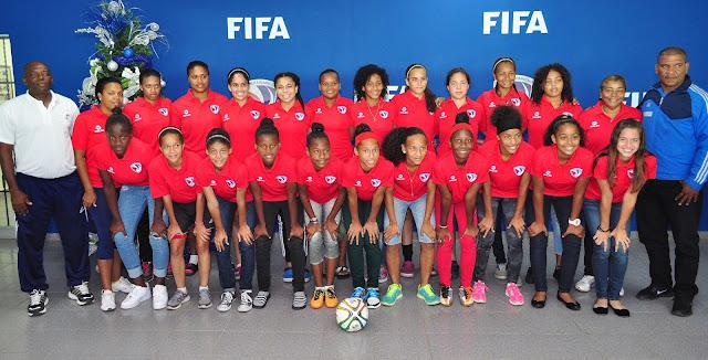 Selección Nacional Sub 17 femenina va a eliminatoria