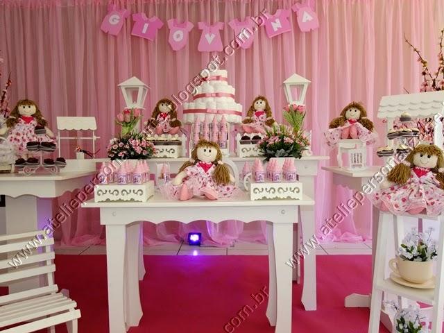 Decoração festa infantil Bonecas de Pano Porto Alegre