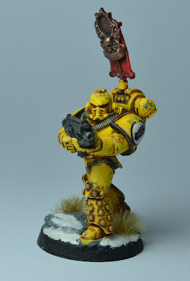 Pre-Heresy Imperial Fists Vexilla