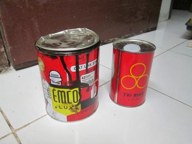 cat minyak untuk mengatasi jamur di partikel