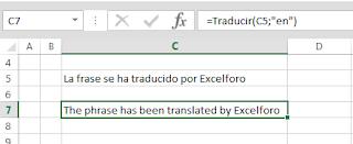 VBA: Traduciendo a otros idiomas celdas en Excel.