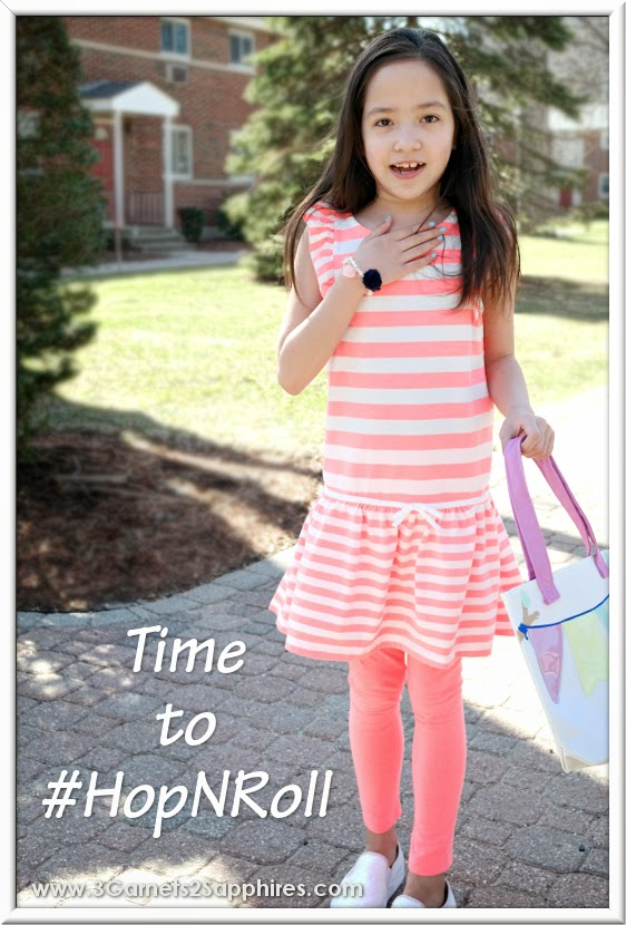 Gymboree's Hop 'N' Roll Girls Fashions | www.3Garnets2Sapphries.com