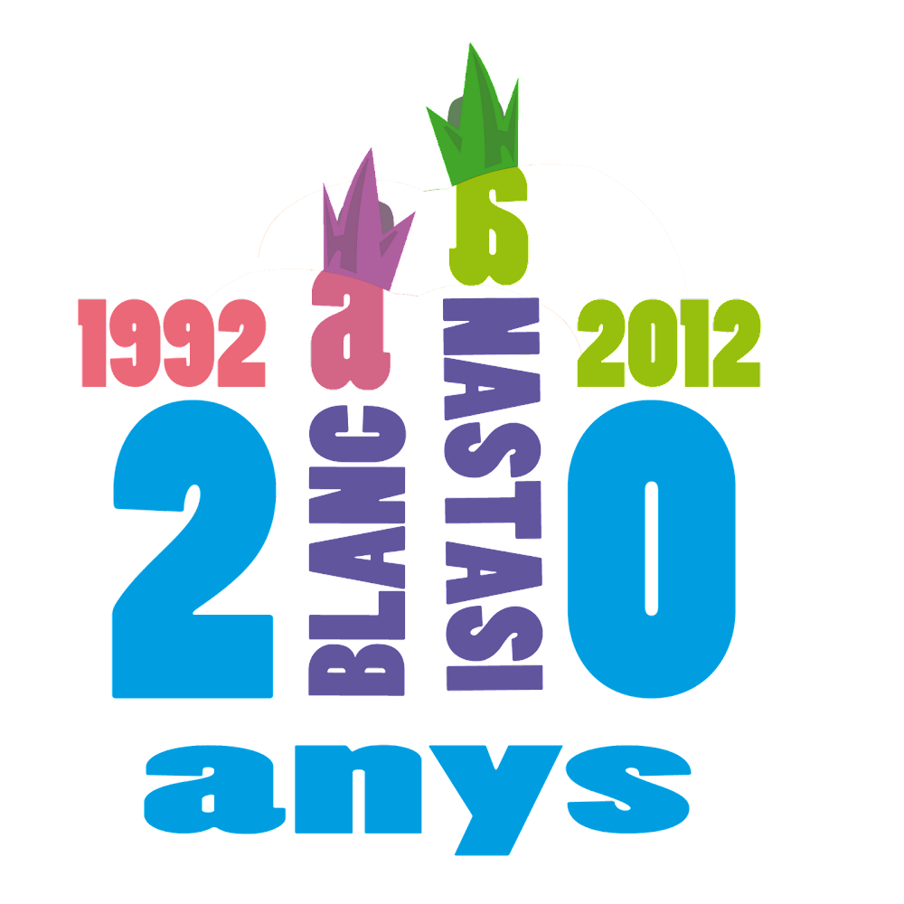 20 anys dels Gegants Anastasi i Blanca